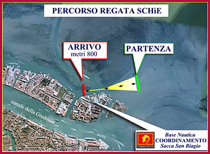 Percorso Regata Schie